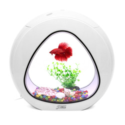 Мини аквариум 3 в 1 SunSun Aquarium YA-01 LED (белый)